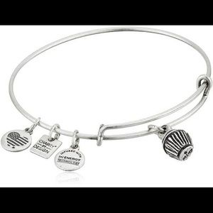 *NEW* Alex + Ani Cupcake Charm Bangle Bracelet